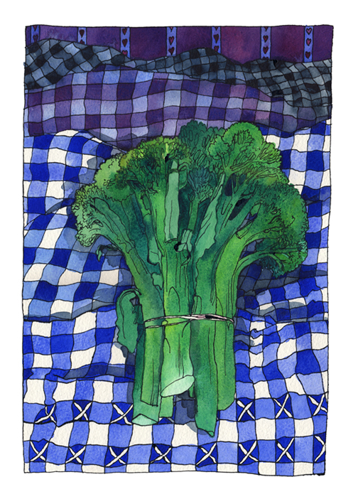 Broccoli and Gingham