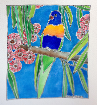 rainbow-lorikeet-watercolour