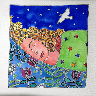 sleep-is-magic-painting21of50-BirthdayBold Art Project
