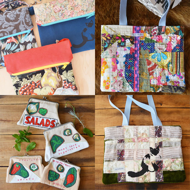 eco conscious bags by Juanita Tortilla