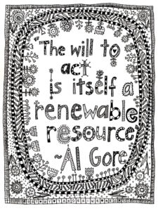 Al Gore Coloring Page For Adults Download And Print Now - Light-pastel-blue-coloring-page