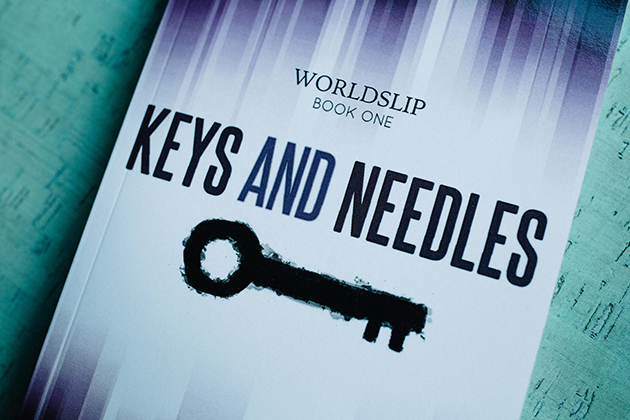 Book cover: Keys and Needles by Michelle Nickolaisen