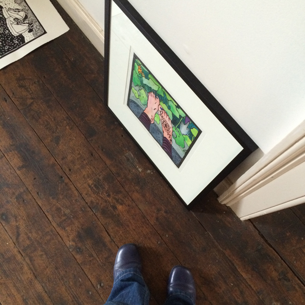 me_Feet and art at Gallery_630